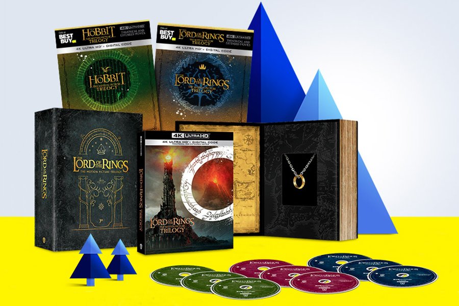 Merchandising: Several 'Middle-Earth' 4K Gift Sets Available at Best Buy