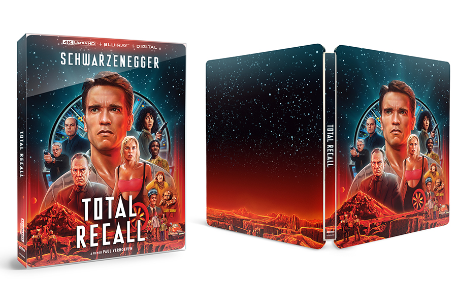 Merchandising: 'Total Recall' Among Latest Best Buy Steelbooks