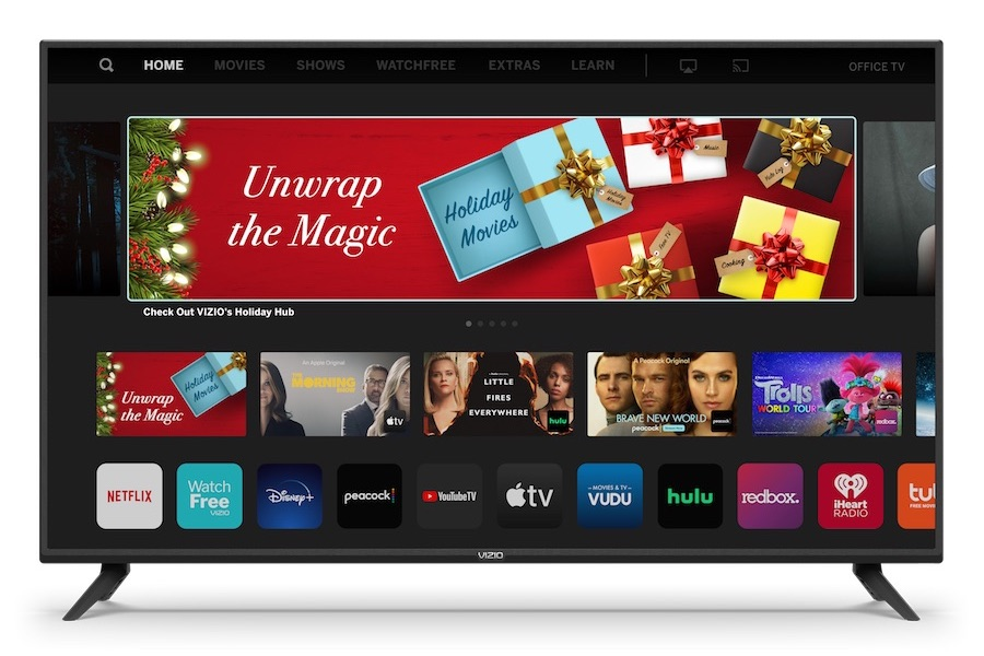 Vizio Unveils Holiday Hub