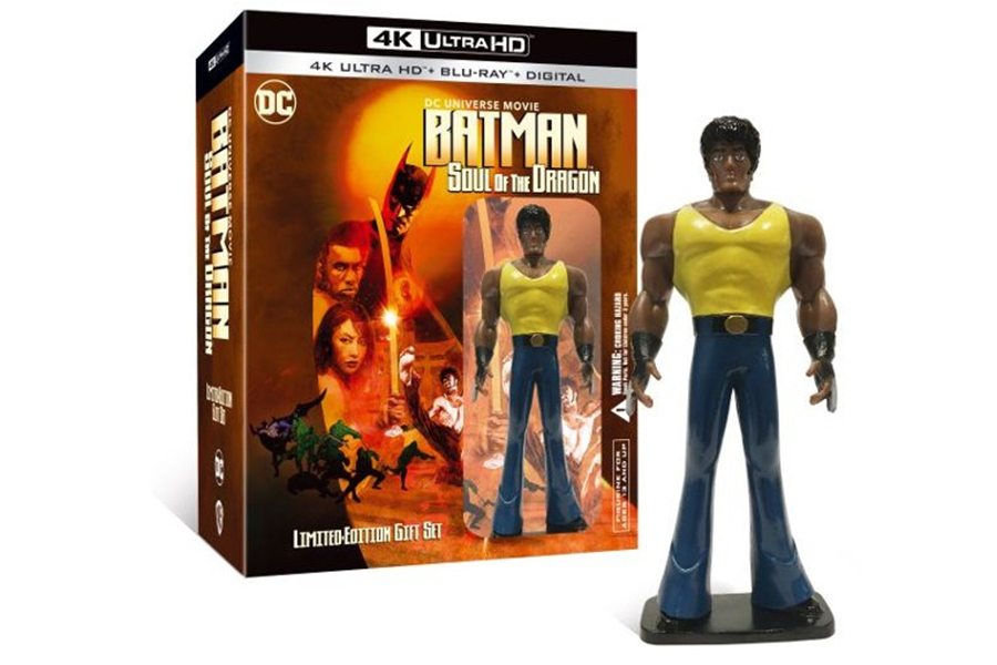 Merchandising: Best Buy Offers 'Batman: Soul of the Dragon' With Figurine