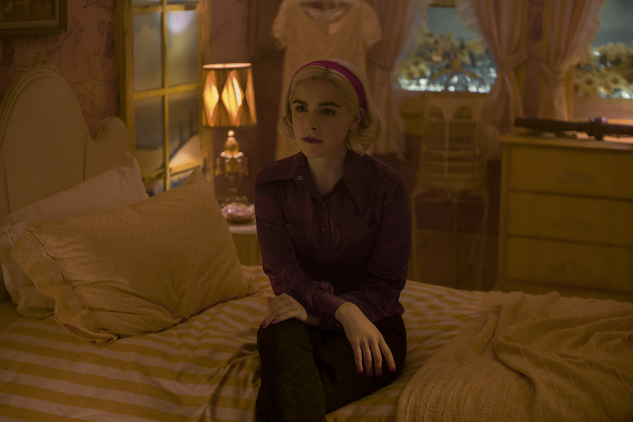 'Chilling Adventures of Sabrina' Tops TV Time Charts
