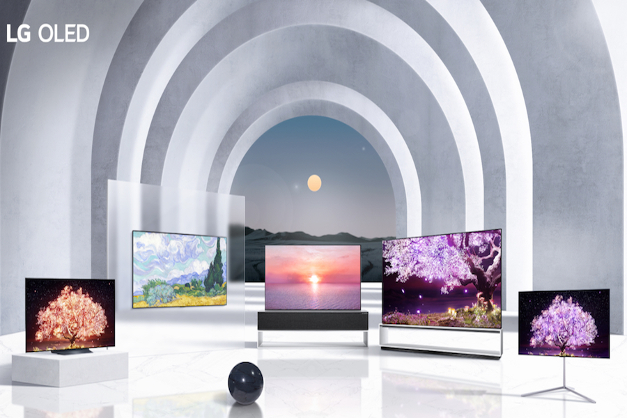 LG Announces New TV Lineup at Virtual CES