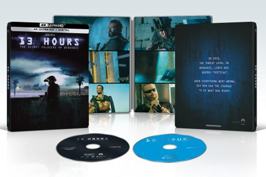 Merchandising: Best Buy Offers '13 Hours' 4K Steelbook