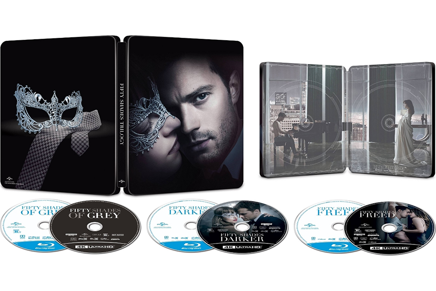 Merchandising: 'Fifty Shades' Steelbook at Target