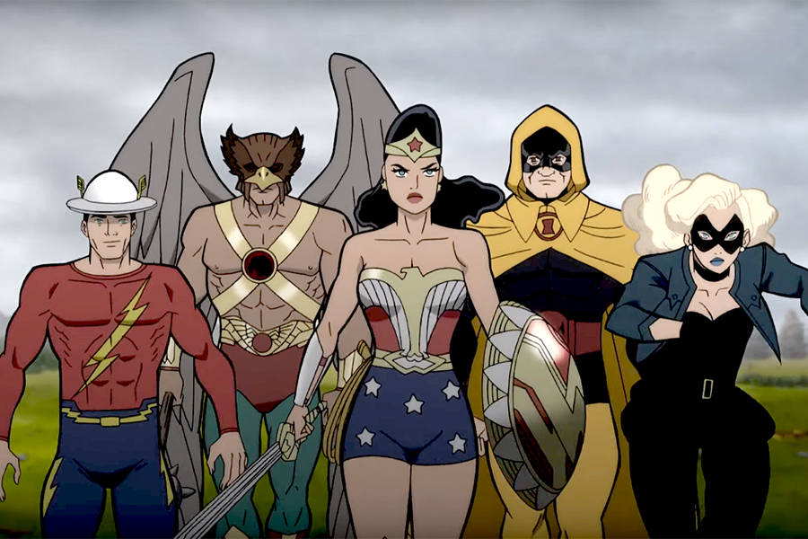 Animated DC Universe Movie 'Justice Society: World War II' Arriving Digitally April 27, on Disc May 11