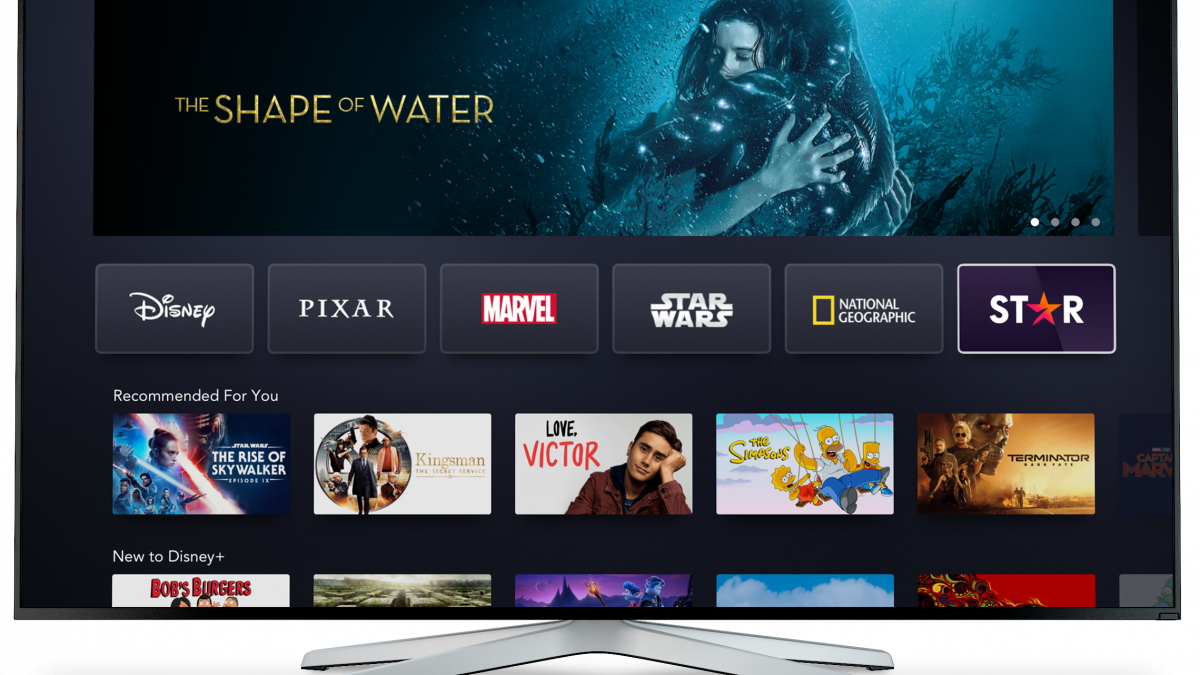 Disney Launches Star Streaming Brand Outside U.S.