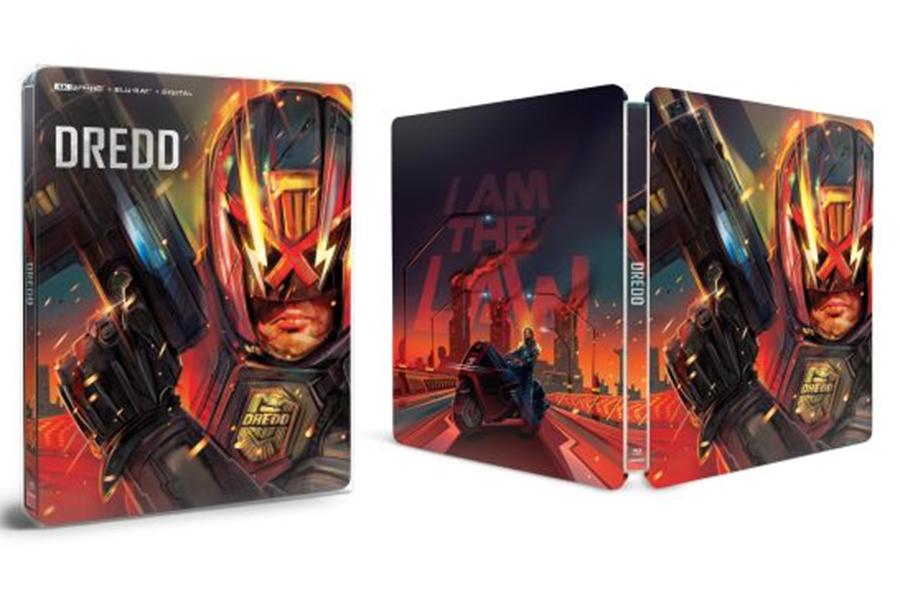 Merchandising: Best Buy Presents 'Dredd' Steelbook