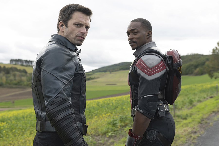 Disney+ Show 'The Falcon and the Winter Soldier' Top Rising Show on TV Time Chart