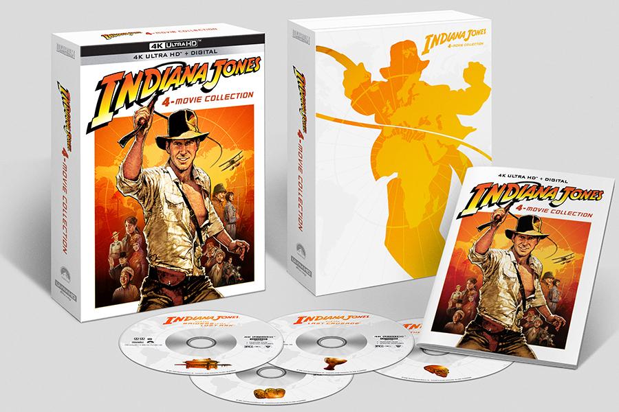 Merchandising: Raiders of the Lost Blu-rays