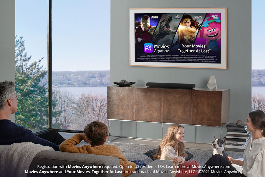 Movies Anywhere Launches on Samsung Smart TVs, Bows 'Deal of the Day' Feature