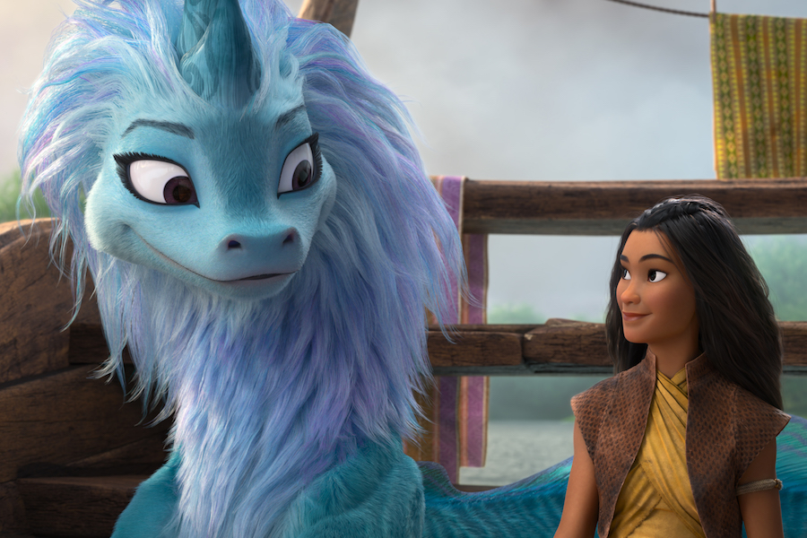 Disney's 'Raya and the Last Dragon' Remains Atop Domestic Box Office Concurrent With Premier Access in the Home