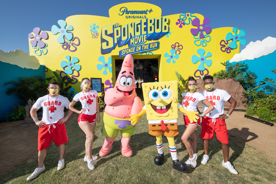 'SpongeBob' Movie Drive-in Premiere