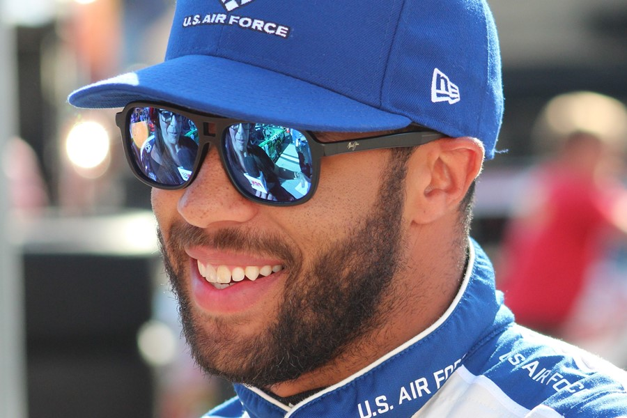 Netflix Producing Docu-Series on Black NASCAR Driver Bubba Wallace
