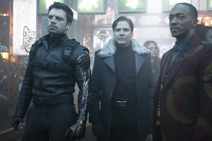 'The Falcon and the Winter Soldier' Remains No. 1 on Parrot's Digital Originals Demand Chart