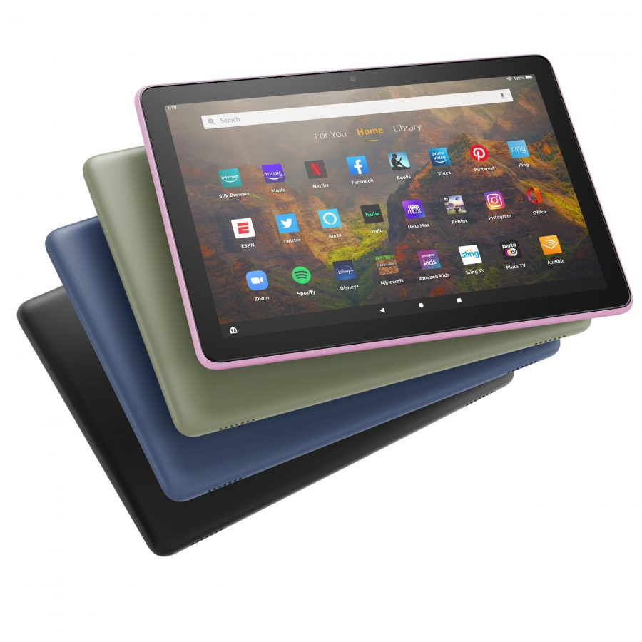 Amazon Bows Next-Generation Fire HD 10 Tablets