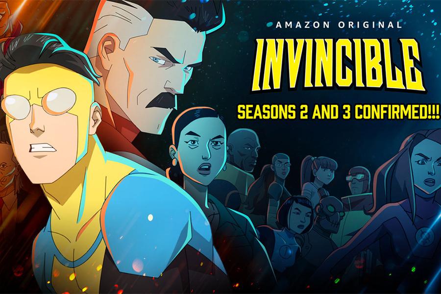 Amazon Renews 'Invincible' For Two More Seasons