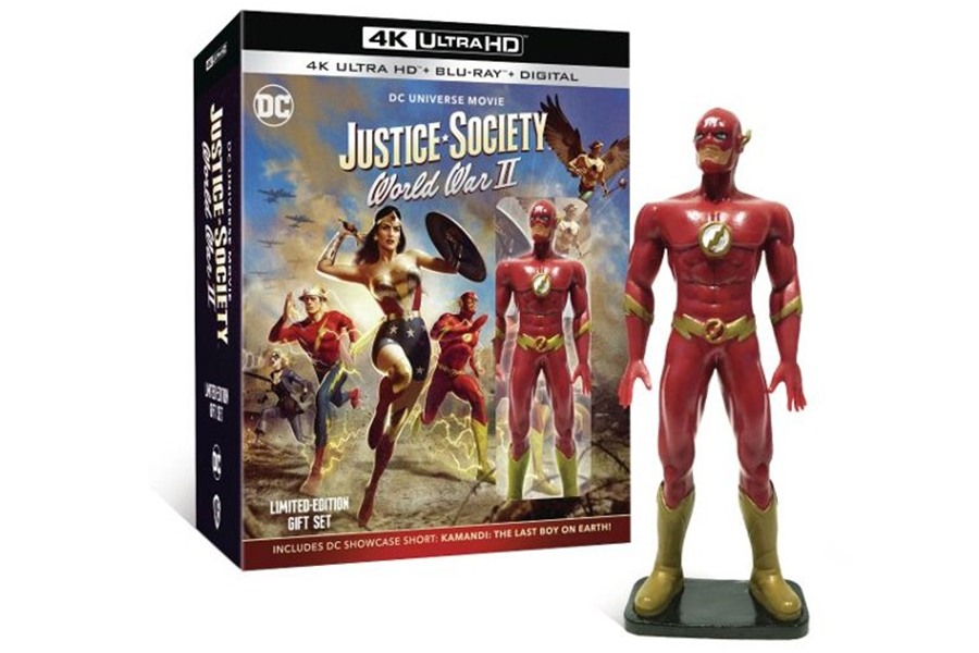 Merchandising: Best Bay Touting Preorders for 'Justice Society' and New Steelbooks