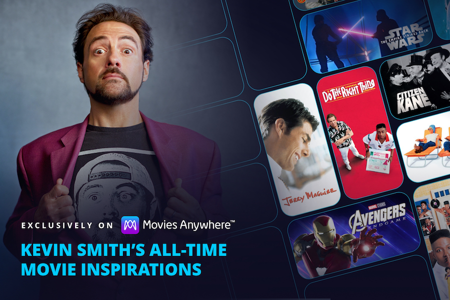 Kevin Smith Picks His Film Inspirations in Movies Anywhere Promotion