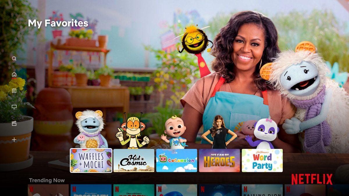 Netflix Updates Kids Content Page Profile