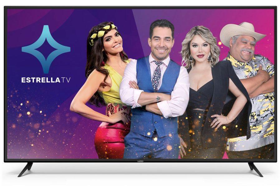 Estrella Media Streaming Ad-Supported Spanish-Language Content on Vizio TVs