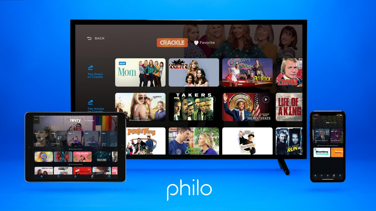 Philo Adds Crackle, Bloomberg TV Content