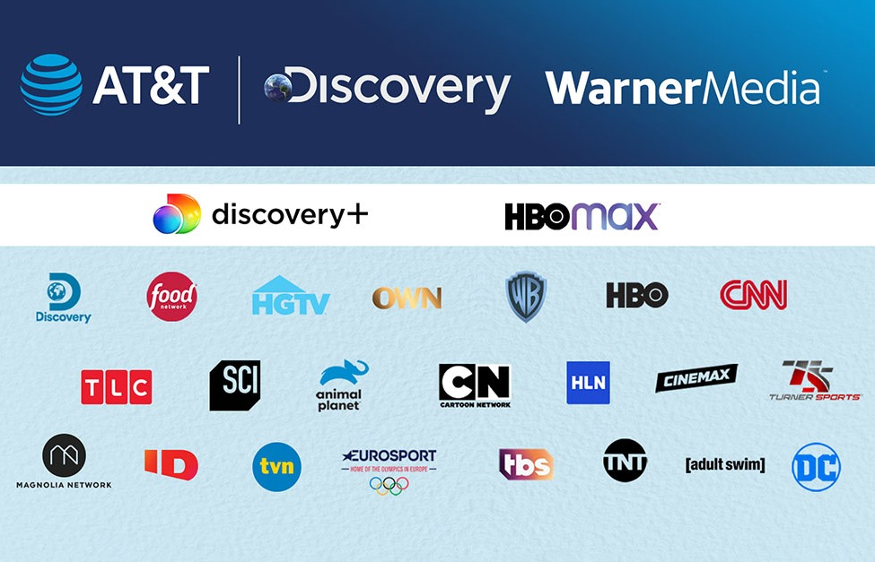 AT&T, Discovery Merging Media Assets to Create Streaming Video Giant