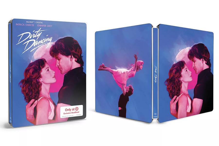 Merchandising: 'Dirty Dancing,' 'Speed' Steelbooks Available