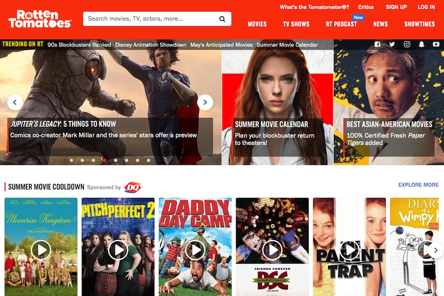 Rotten Tomatoes Launches OTT Channel on Roku