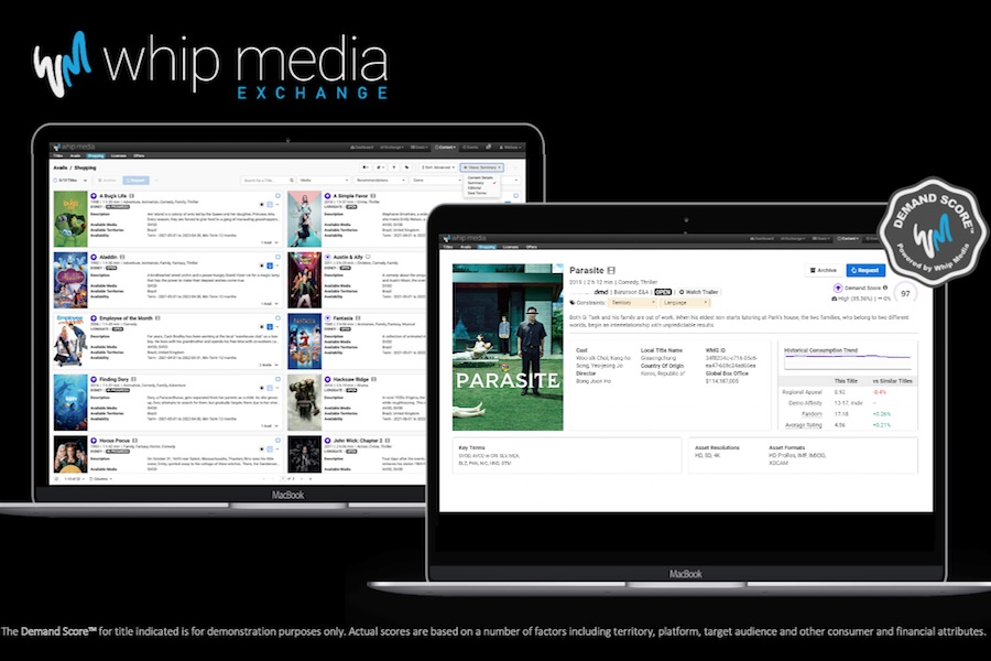 Whip Media Launches Exchange for Global Content Rights