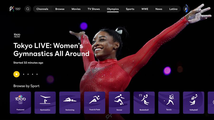 Peacock to Stream Tokyo Olympics Live, Including Gymnastics, Track & Field, and Basketball