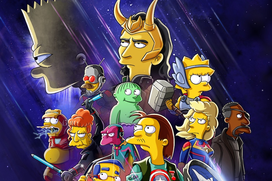 Disney+ to Debut New Animated 'Loki,' 'Simpsons' Crossover Short July 7