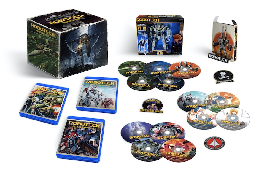 Funimation Releasing Classic Anime Series 'Robotech' on Streaming Channel, Blu-ray