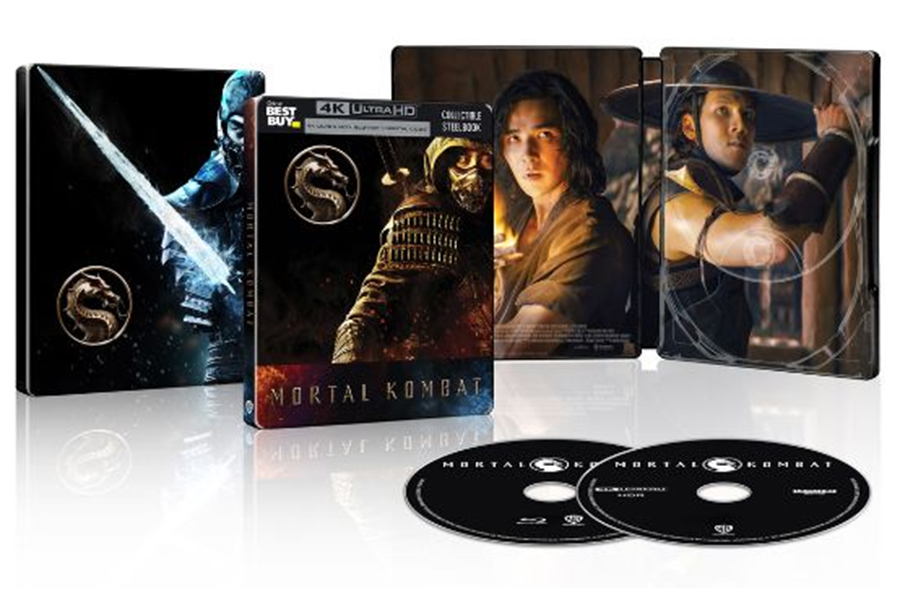 Merchandising: 'Mortal Kombat' Steelbook at Best Buy