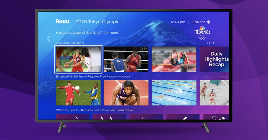 NBCUniversal and Roku Partner for Tokyo Olympics Streaming