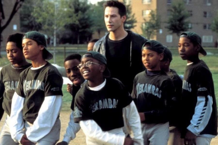 Keanu Reeves Sports Film 'Hardball' Hitting Blu-ray Sept. 21 for Its 20th Anniversary