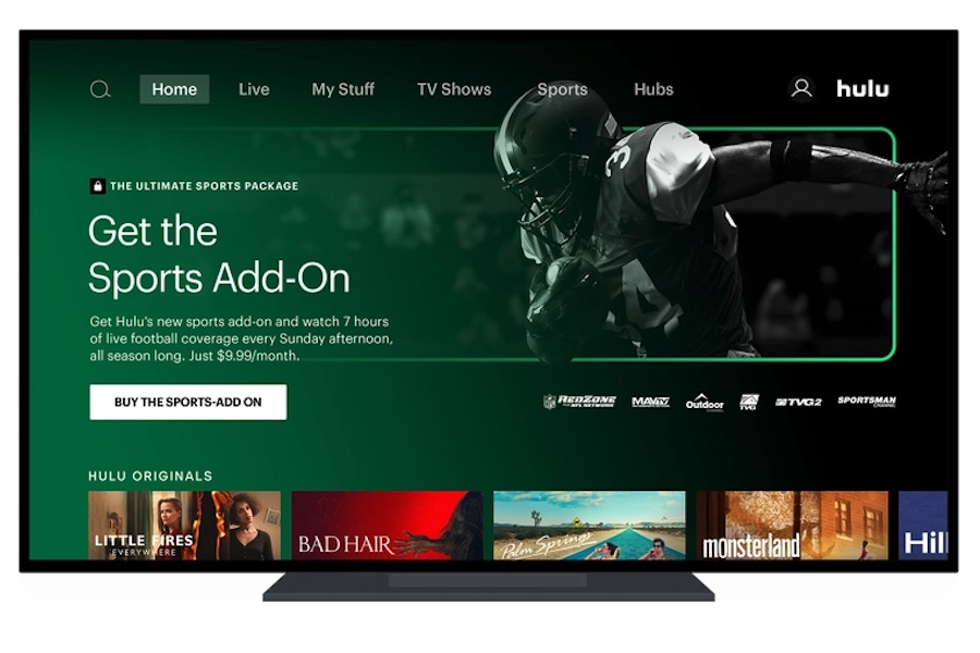Hulu Adds NFL Network to Live TV Channel Line-Up