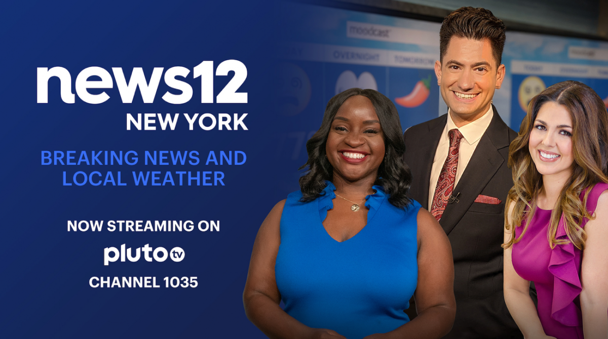 Pluto TV Adds Altice USA's 'News12 New York' Channel
