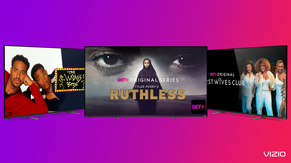 BET+ Streaming App is Coming to Vizio SmartCast