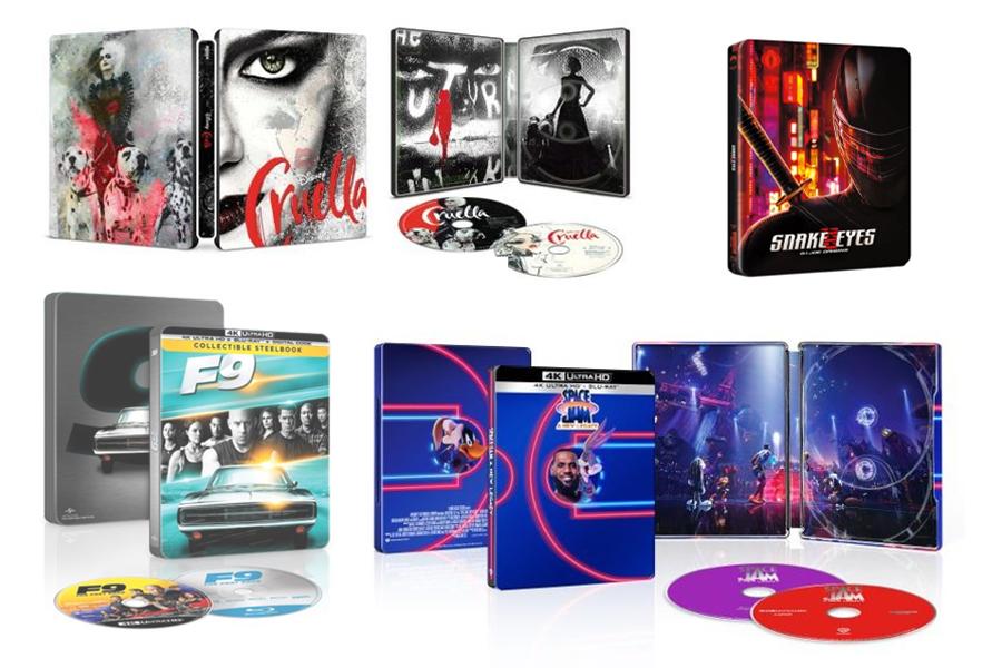 Merchandising: Best Buy Steelbook Preorders Include 'Cruella,' 'F9'