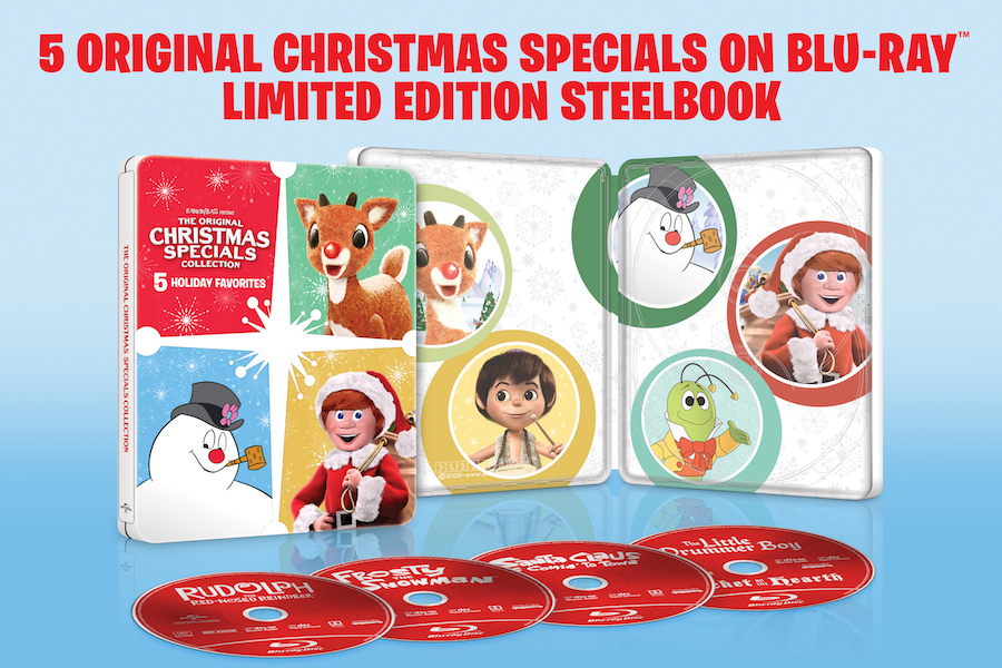 'Original Christmas Specials' Blu-ray Steelbook Coming Nov. 2