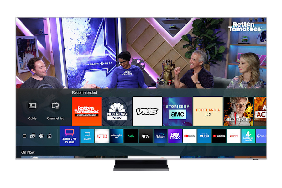 Rotten Tomatoes OTT Channel Launching on Samsung TV Plus