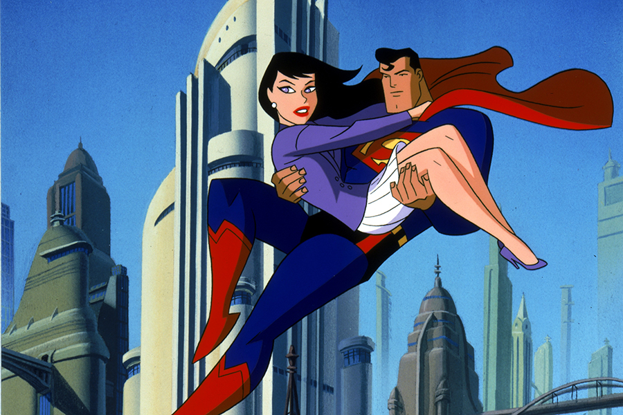 'Superman: The Animated Series' Flying to Blu-ray Oct. 12