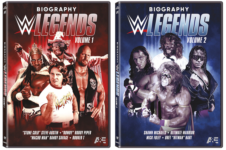 Lionsgate Releasing 'Biography: WWE Legends' on DVD Sept. 21