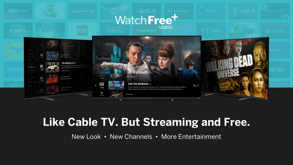 Vizio Updates Free TV Streaming Service