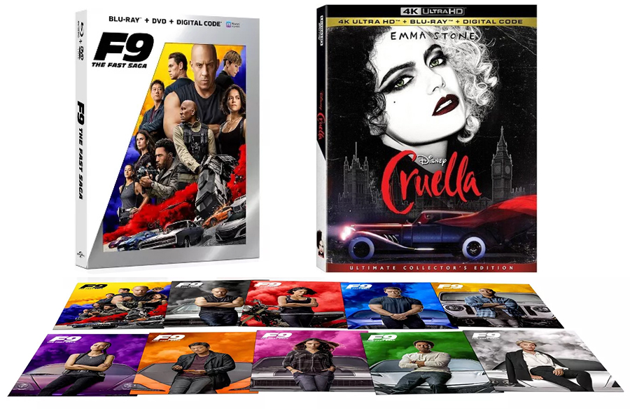 Merchandising: 'F9,' 'Cruella' Among Slew of Exclusives