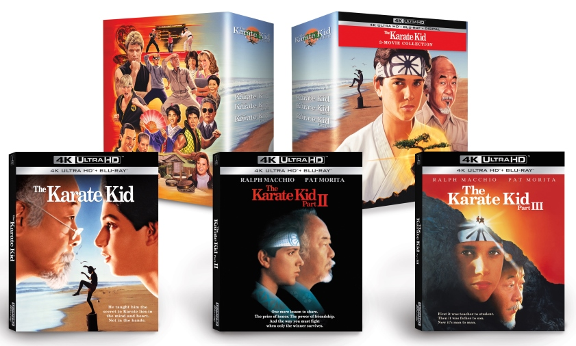 'Karate Kid' Movie Collection Bound for 4K Ultra HD Release