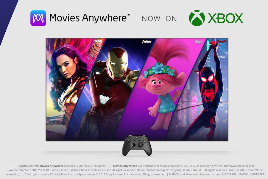 Movies Anywhere Available on Xbox Consoles