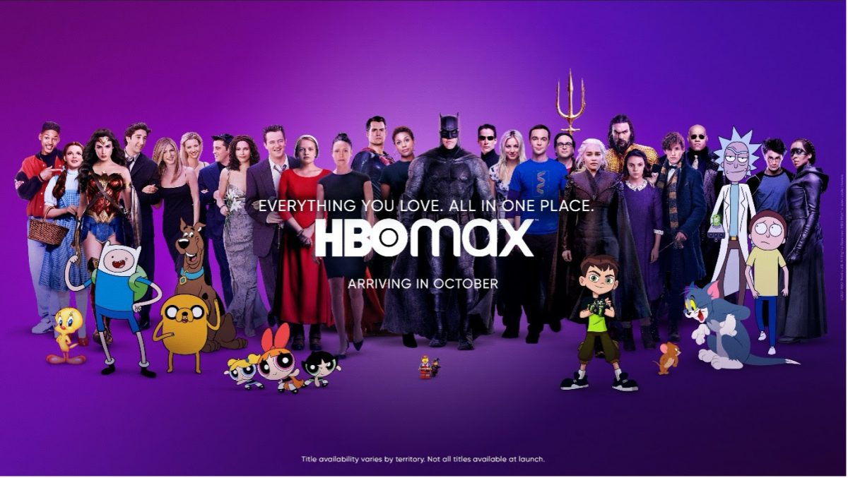 HBO Max Launching in Europe Oct. 26