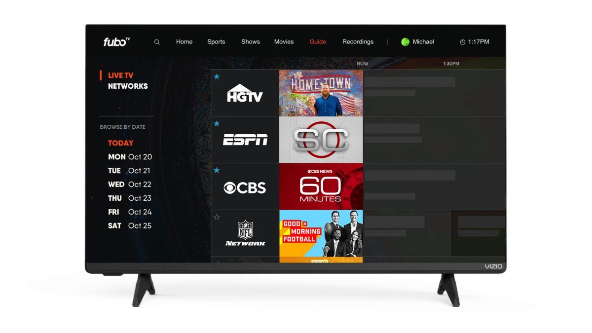 FuboTV Joins Vizio SmartCast Platform