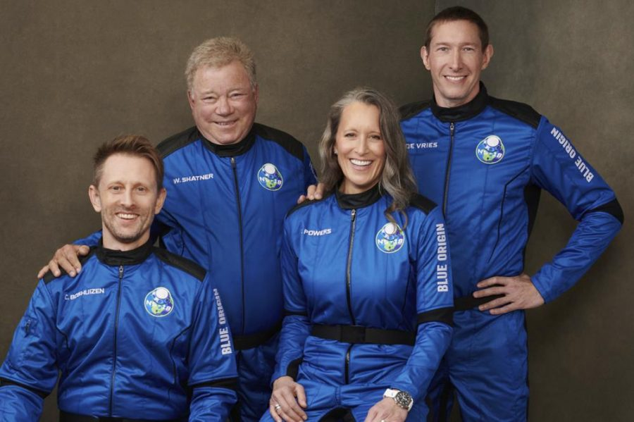 'Star Trek' Icon William Shatner Becomes Oldest Person to Fly Into Space